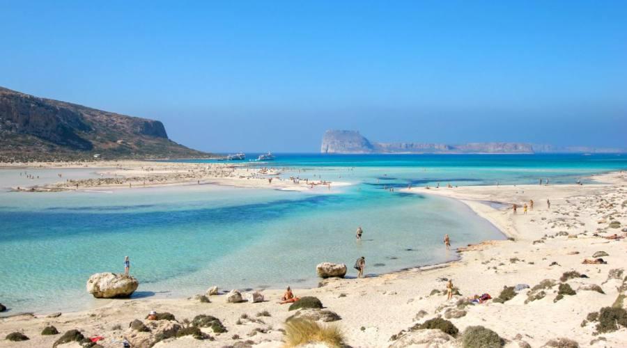 Una spiaggia nei dintorni di Chania
