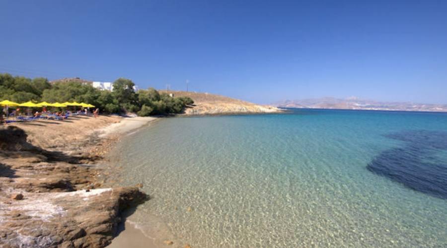 Una spiaggia di Naxos