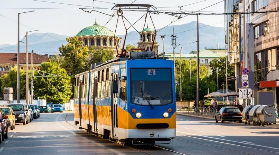Sofia, il tradizionale tram