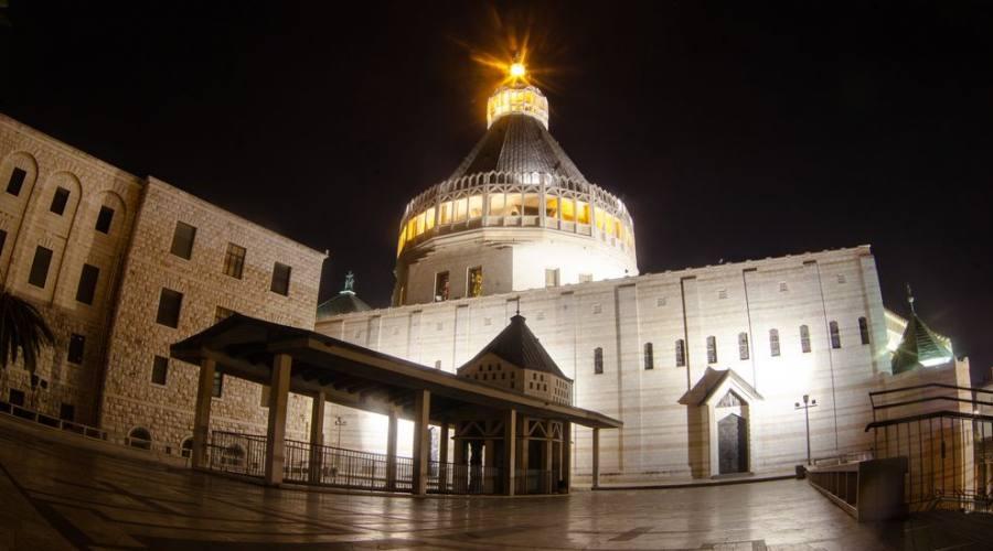 Nazareth Basilica dell'Annuciazione