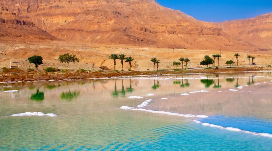 Mar Morto la spiaggia