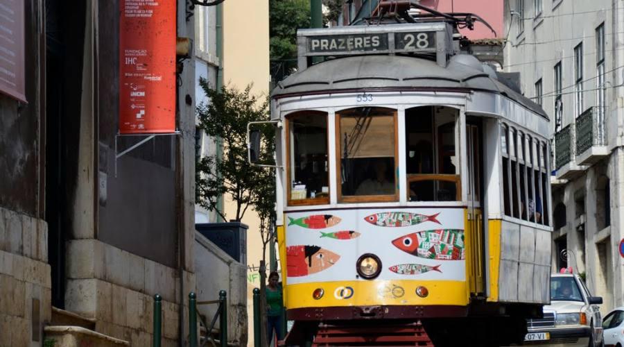 Lisbona, mezzi di locomozione