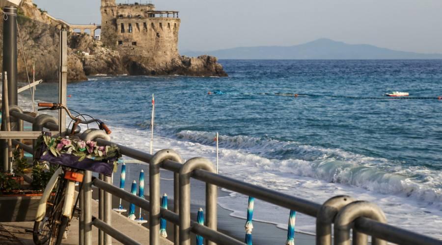 Scorcio panoramico della Costiera Amalfitana