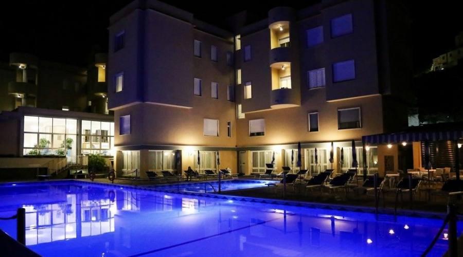 L'hotel affaccio sulla piscina