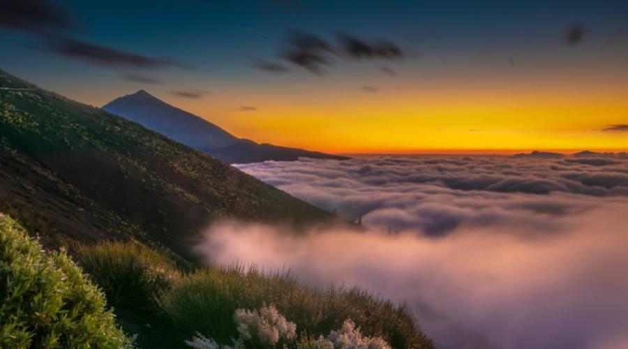 vista panoramica parco nazionale di teide