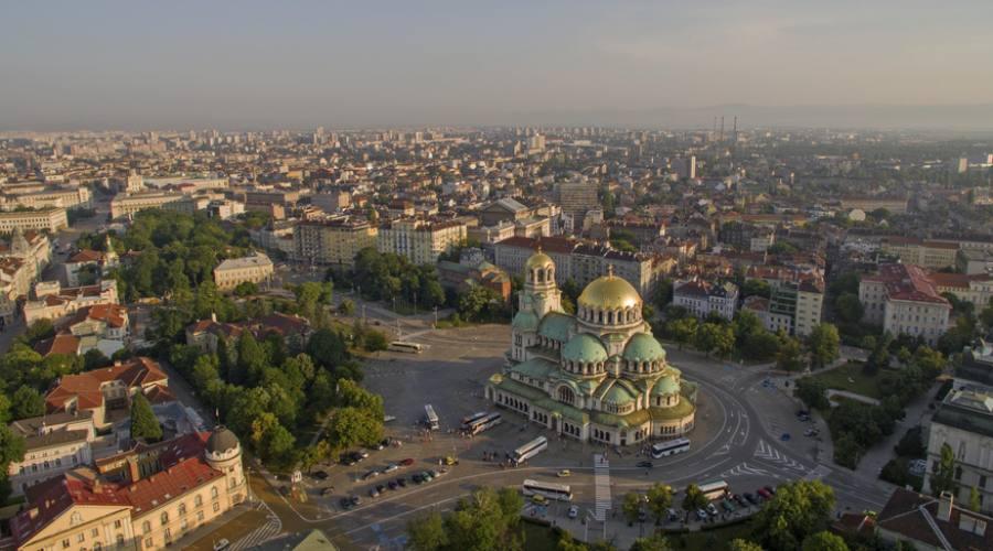 Arrivando a Sofia
