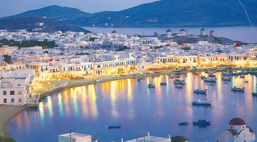 Panoramica Naxos Town