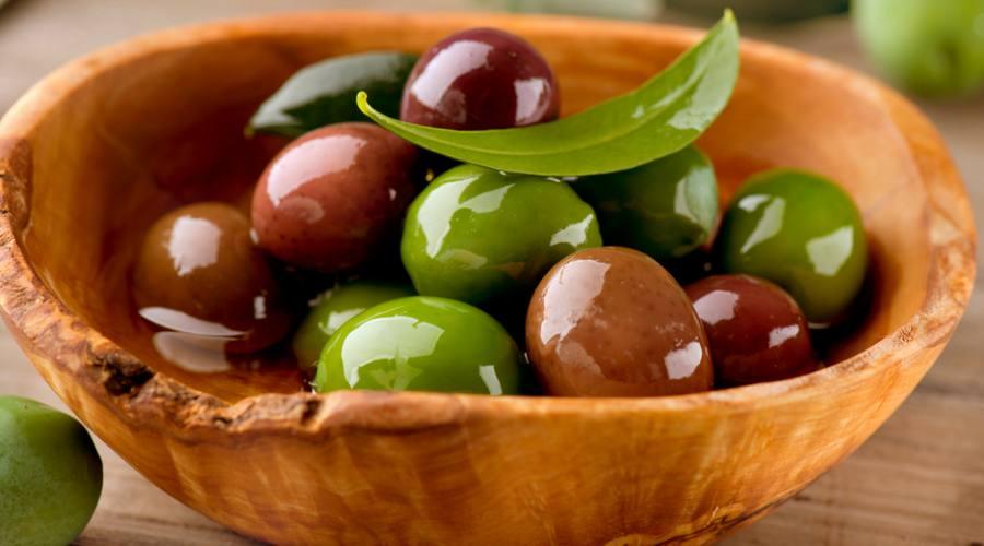 Le classiche olive greche