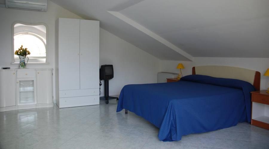 Camera mansardata in alcuni appartamenti