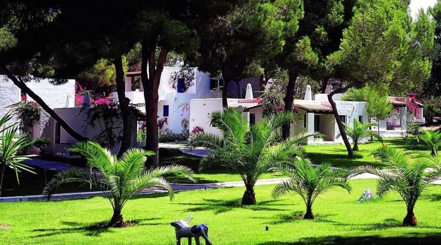 giardino della struttura
