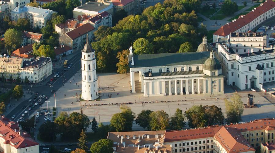 Lituania Vilnius città vecchia