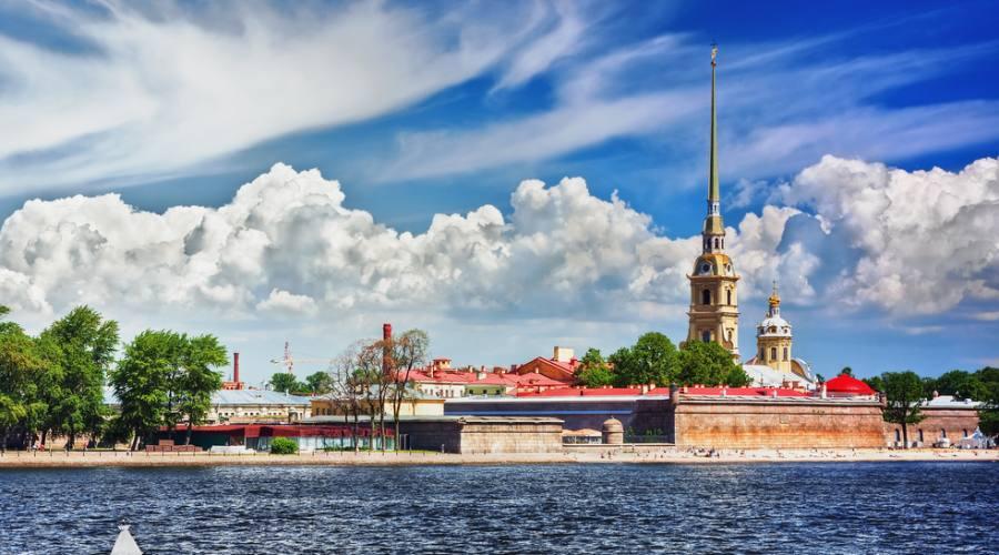 San Pietroburgo Fortezza di Pietro e Paolo