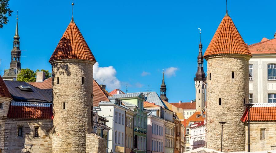 Estonia Tallin vecchie Torri di guardia