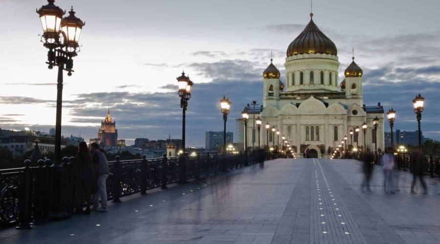 Mosca Cattedrale Cristo Salvatore