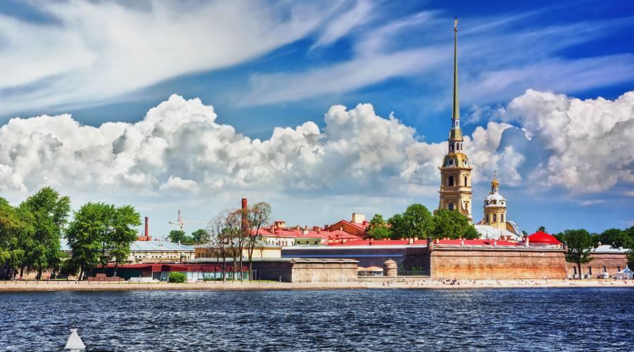 San Pietroburgo Fortezza SS Pietro e Paolo