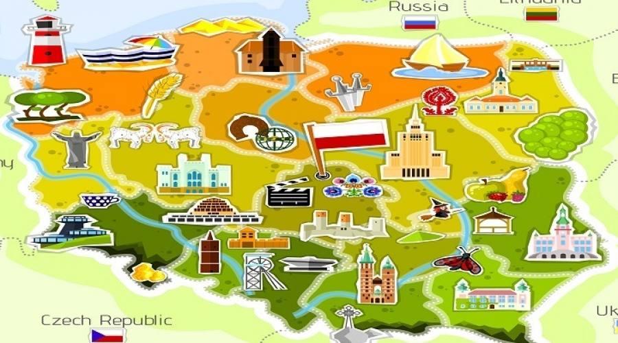Mappa turistica