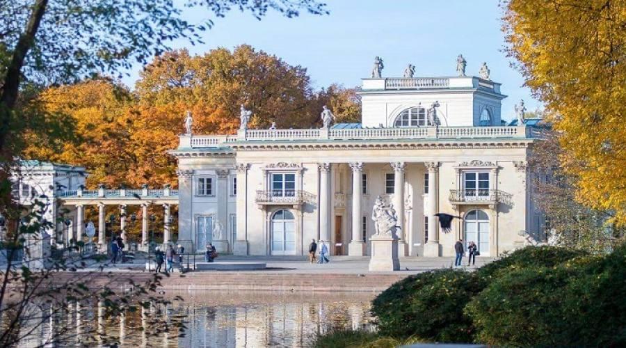 Varsavia ed il Palazzo sull'acqua