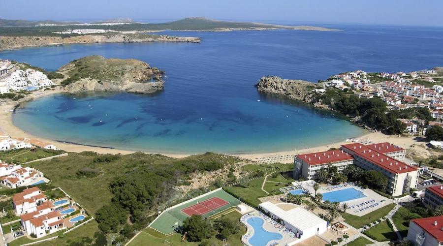 struttura hotel e spiaggia