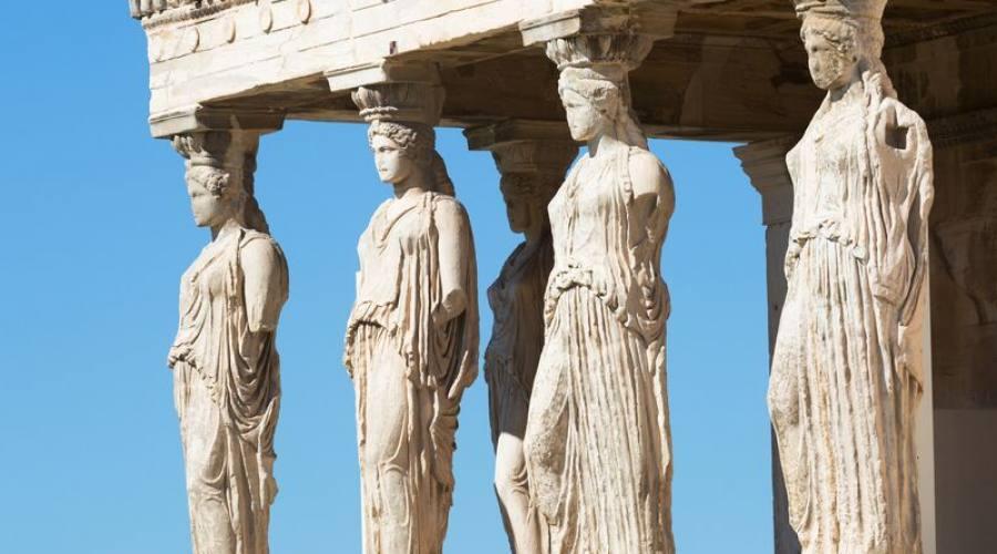 Atene cariatidi