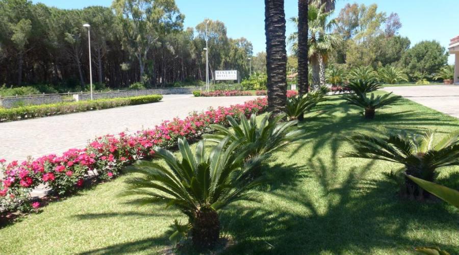 Il parco del resort