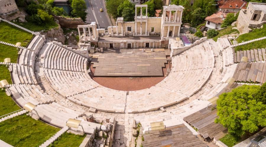 Plovdiv , teatro romano