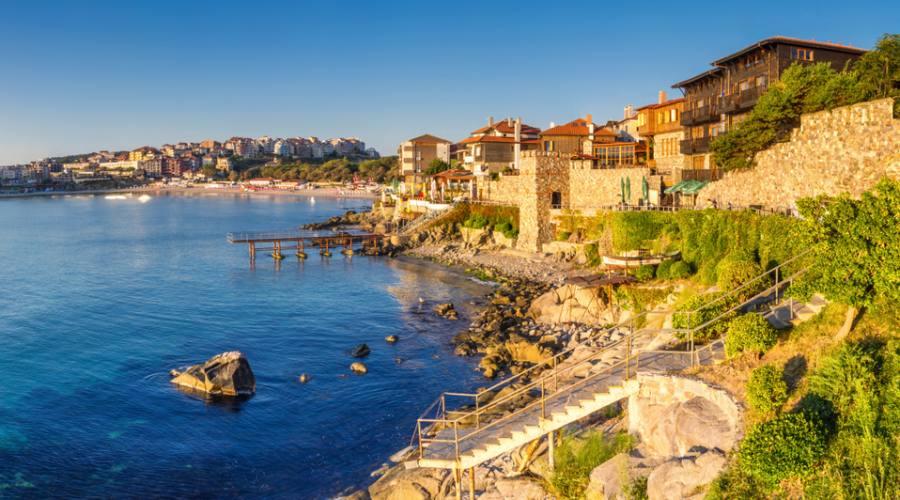 La costa sul Mar Nero