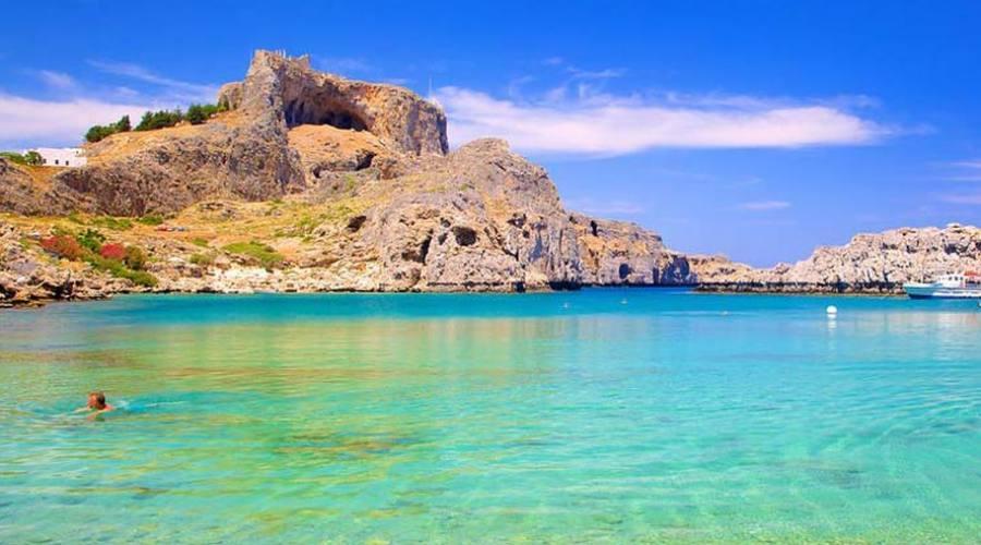 Spiaggia a Rodi