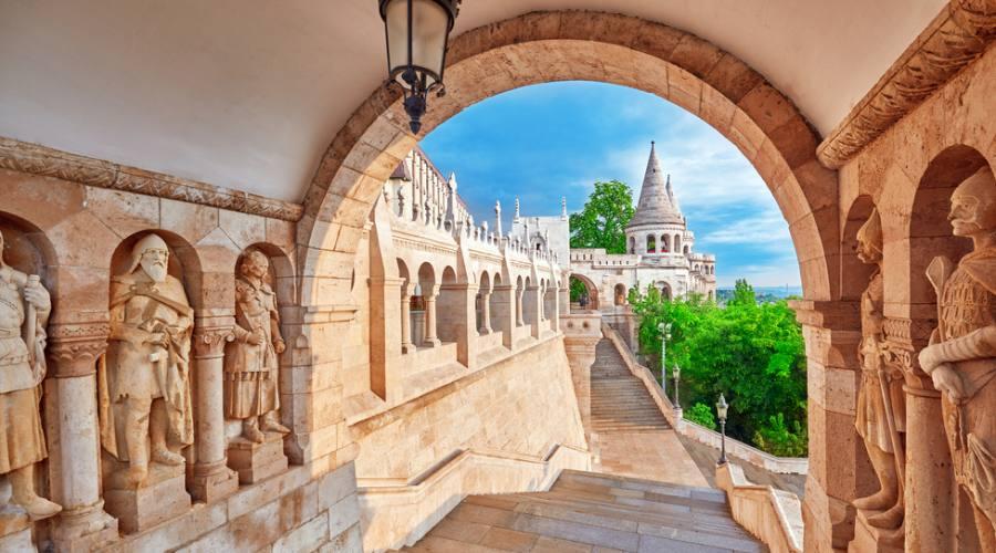 Budapest, il Bastione dei Pescatori