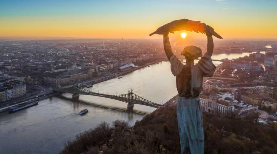 Budapest, dalla collina