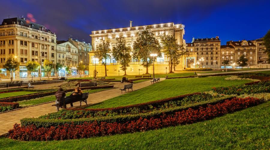 Belgrado, giardini in centro