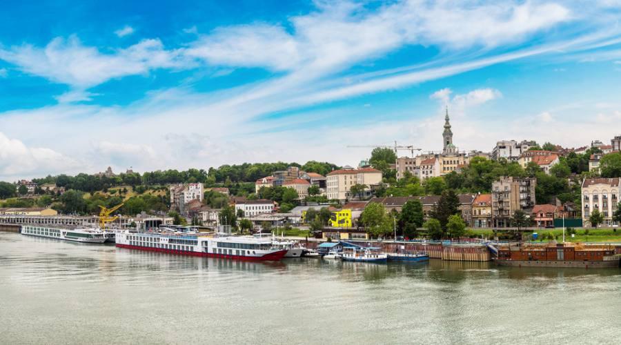 Belgrado dal fiume