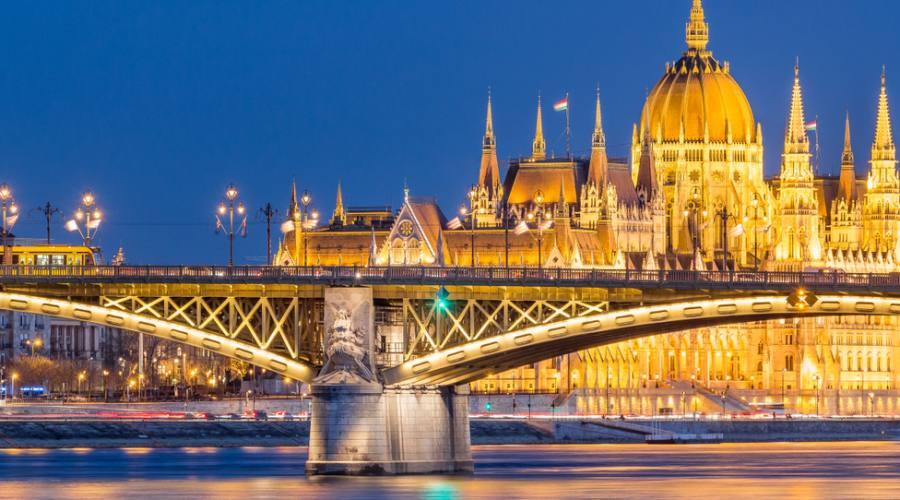 Budapest, il ponte Santa Margherita