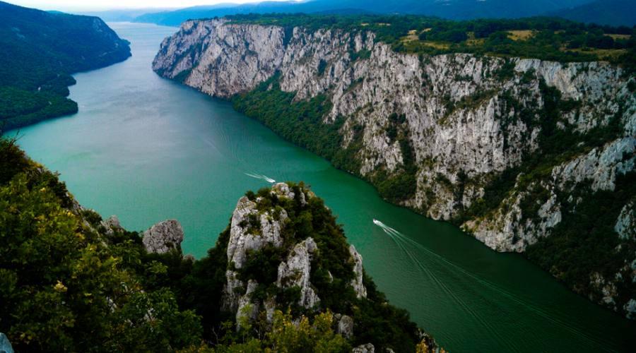 Sul Danubio, le Porte di ferro