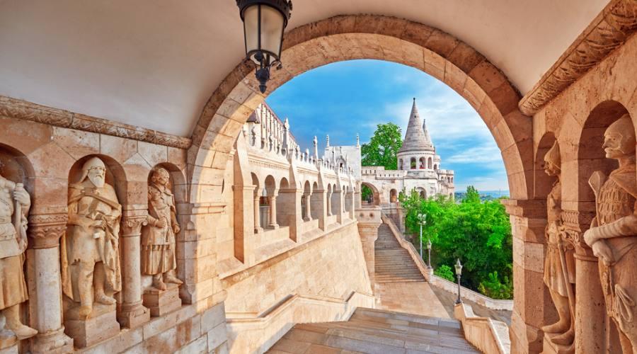Budapest, veduta dai Bastioni