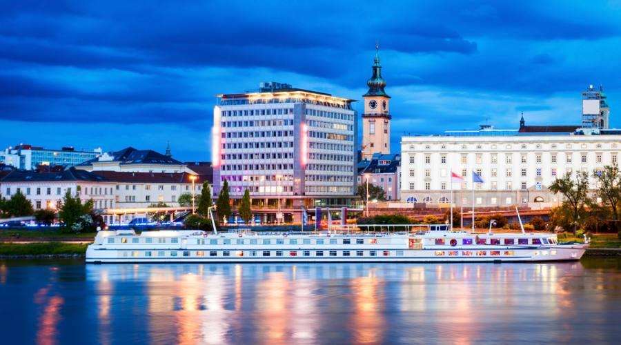 Linz sul Danubio