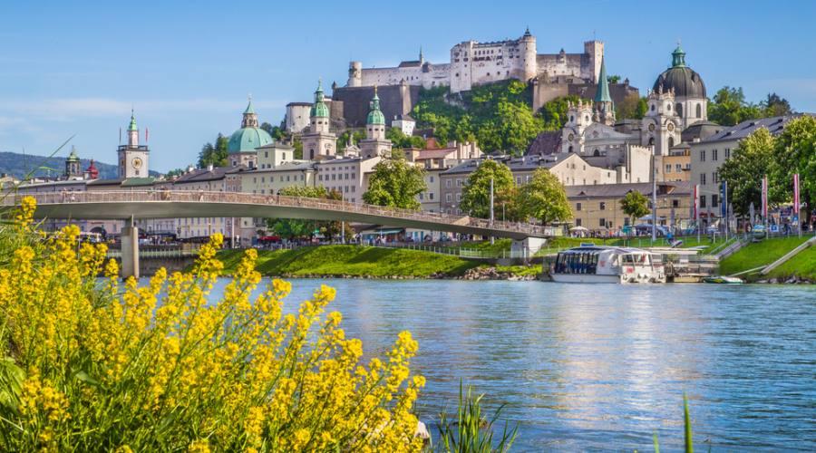 Salisburgo dal fiume
