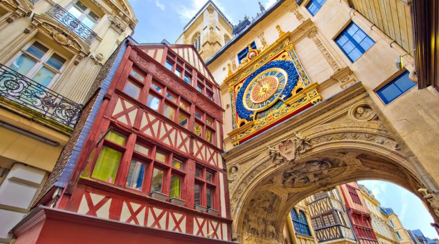 Rouen, in centro