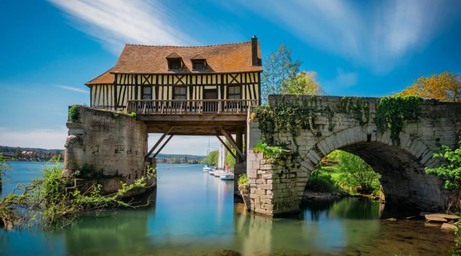 Vernon, il ponte di legno