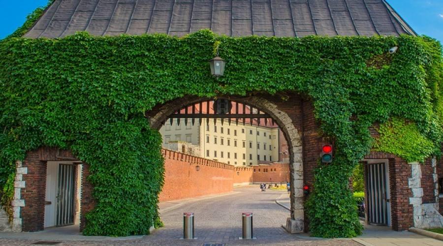 Ingresso Castello di Wawel
