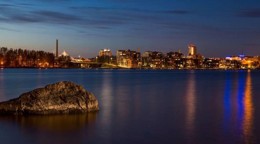 Skyline di Tampere