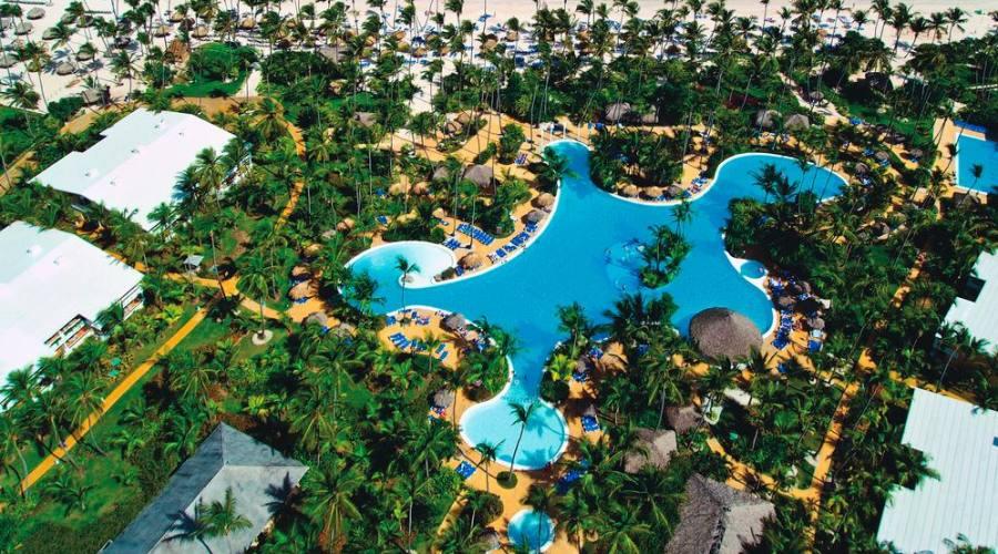 Il Resort dall'alto...