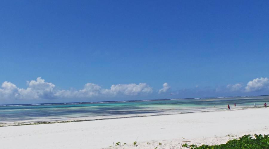 La spiaggia di Michamwi