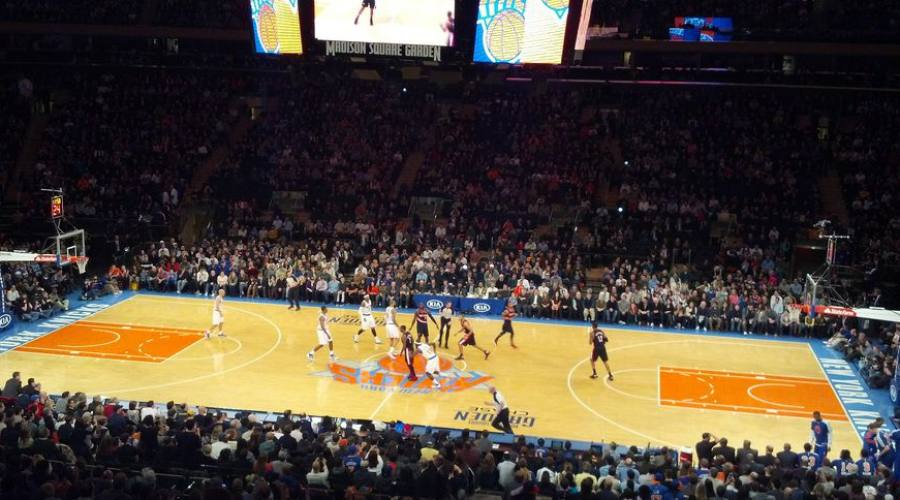 Una partita al Madison Square Garden