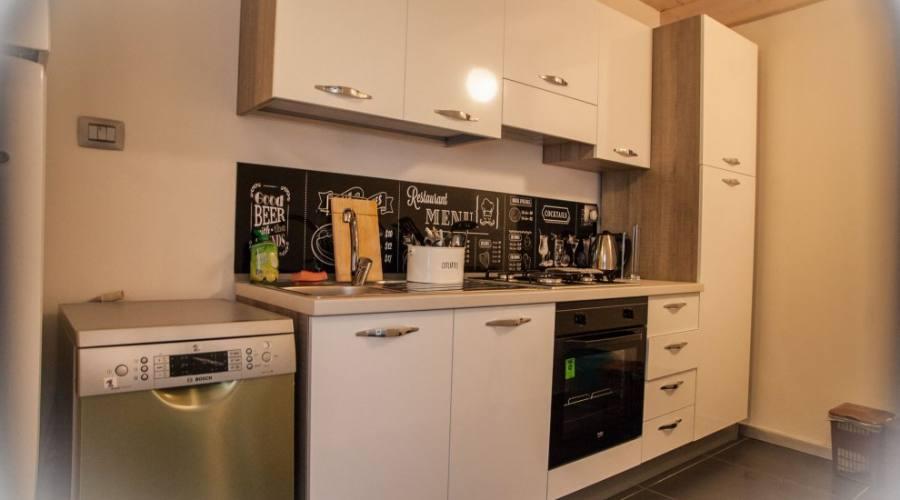 Nuovo appartamento, cucina