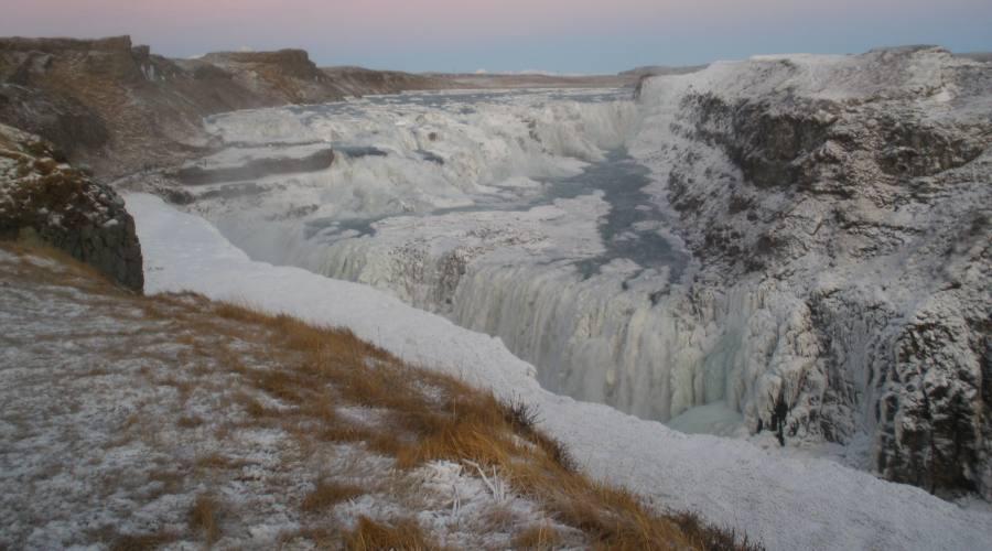La cascata d'Oro Gullfoss - Foto di Manuela Aprile