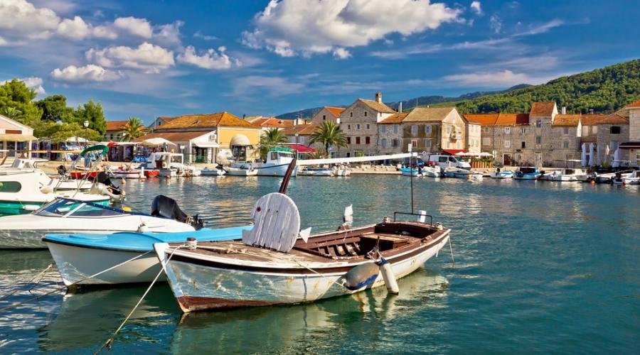 Isola di Hvar - panoramica di Starigrad