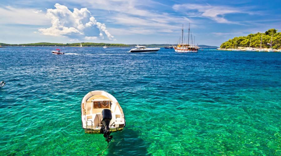 Isola di Hvar - il mare