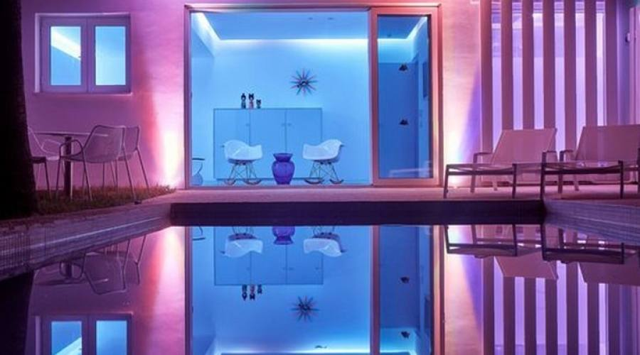 camera deluxe con piscina privata