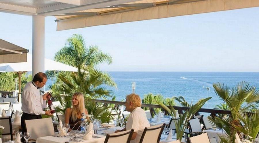 vista ristorante all'aperto