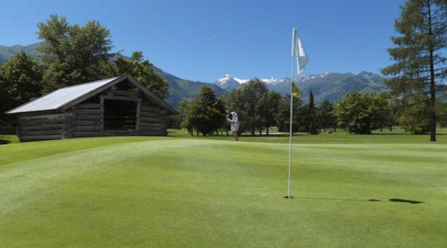 il campo da golf
